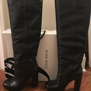 Nine West Tall leather boots